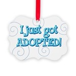 JUSTADOPTED22.png Picture Ornament