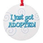 JUSTADOPTED22.png Round Ornament