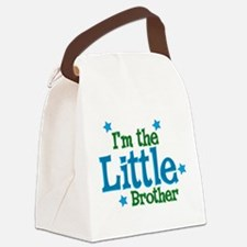 Im the Little Brother.png Canvas Lunch Bag