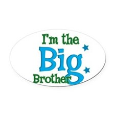 BIGBrother.png Oval Car Magnet