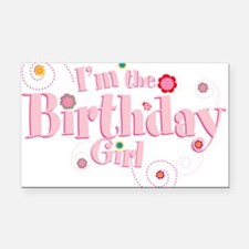 Birthday girl 3.png Rectangle Car Magnet