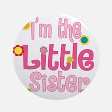 LittleSister2.png Ornament (Round)