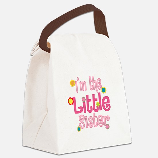 LittleSister2.png Canvas Lunch Bag