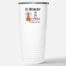 In Memory Kidney Cancer Travel Mug