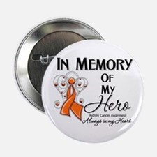 """In Memory Kidney Cancer 2.25"""" Button"""