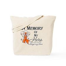 In Memory Kidney Cancer Tote Bag
