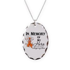 In Memory Kidney Cancer Necklace