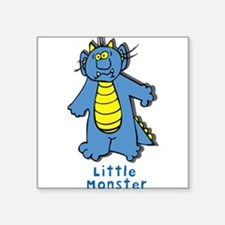 "LittleMonster2.png Square Sticker 3"" x 3"""