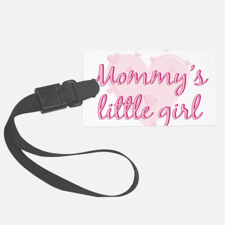 mommys little girl.png Luggage Tag