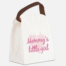 mommys little girl.png Canvas Lunch Bag