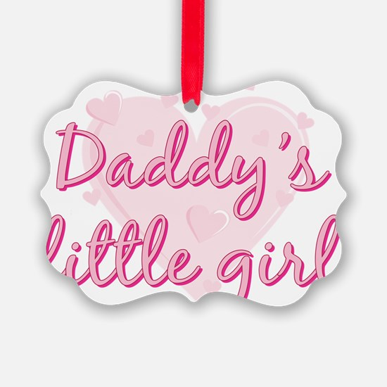Daddys Little Girl.png Ornament