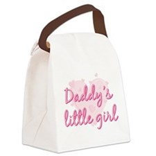 Daddys Little Girl.png Canvas Lunch Bag