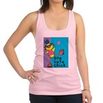 One Cute Chick.png Racerback Tank Top