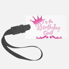 Birthday Girl.png Luggage Tag