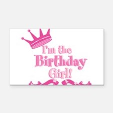 Birthday Girl 2.png Rectangle Car Magnet