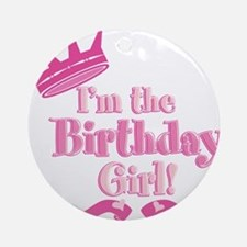 Birthday Girl 2.png Ornament (Round)