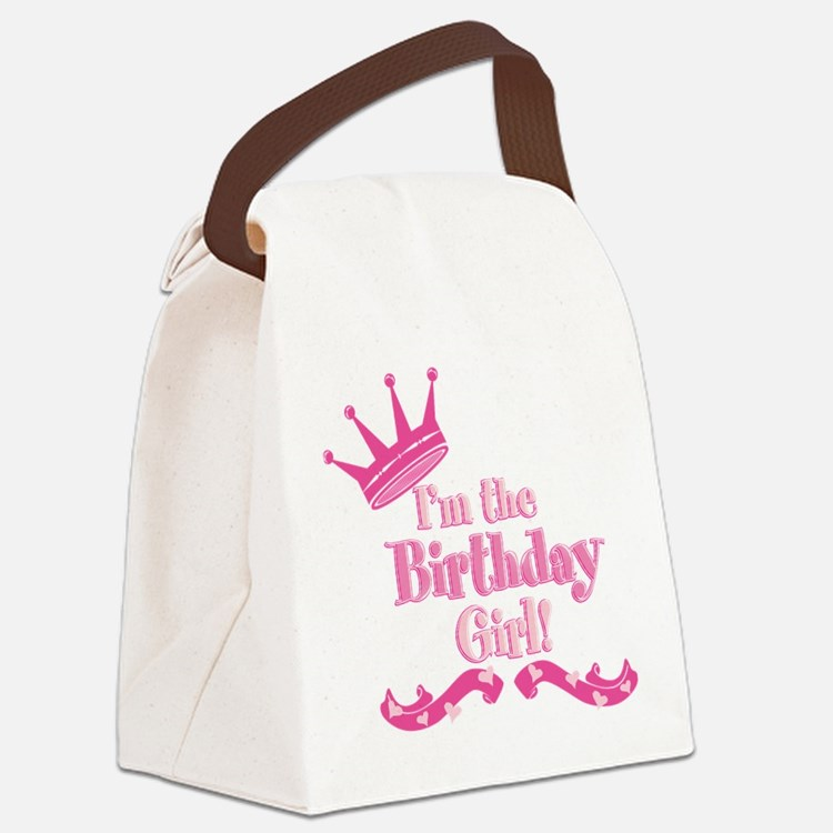 Birthday Girl 2.png Canvas Lunch Bag
