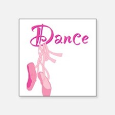 """Dance.png Square Sticker 3"""" x 3"""""""