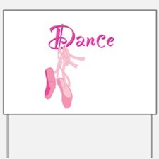 Dance.png Yard Sign