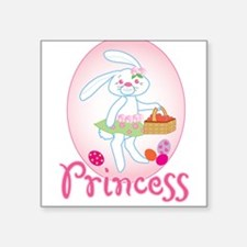 """EASTER PRINCESS22.png Square Sticker 3"""" x 3"""""""