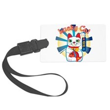 HAPPYCAT1.png Luggage Tag