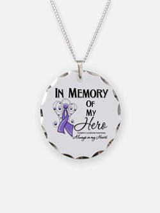 In Memory Hodgkin Lymphoma Necklace