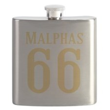 Calebs Football Jersey Number Flask