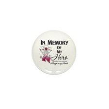 In Memory Head Neck Cancer Mini Button (10 pack)