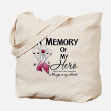 In Memory Head Neck Cancer Tote Bag