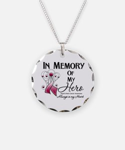 In Memory Head Neck Cancer Necklace