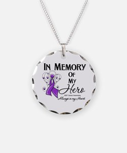In Memory GIST Cancer Necklace