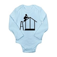 Constructor Long Sleeve Infant Bodysuit