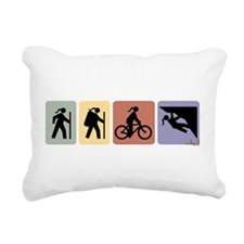 multisportgirlhoriz Rectangular Canvas Pillow