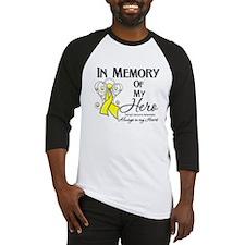 In Memory Ewing Sarcoma Baseball Jersey