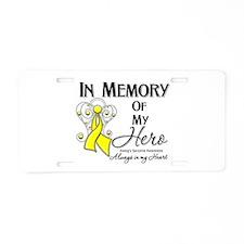 In Memory Ewing Sarcoma Aluminum License Plate