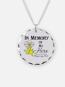 In Memory Ewing Sarcoma Necklace