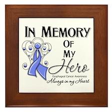 In Memory Esophageal Cancer Framed Tile