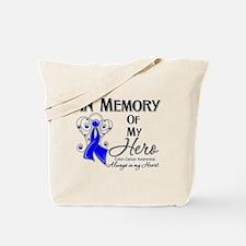 In Memory Colon Cancer Tote Bag