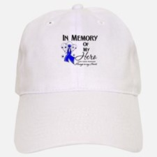In Memory Colon Cancer Baseball Baseball Cap