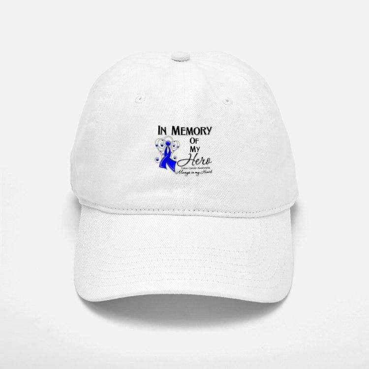 In Memory Colon Cancer Baseball Baseball Cap