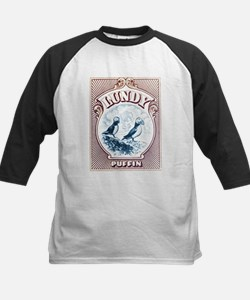 1928 Lundy Island Puffins Engraved Print Tee