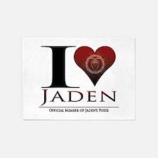 I Heart Jaden 5'x7'Area Rug