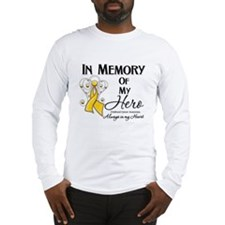 In Memory Childhood Cancer Long Sleeve T-Shirt