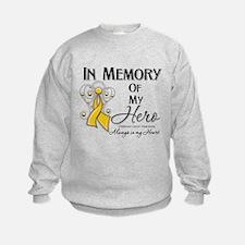 In Memory Childhood Cancer Sweatshirt