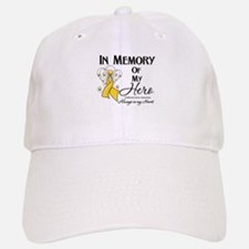 In Memory Childhood Cancer Baseball Baseball Cap