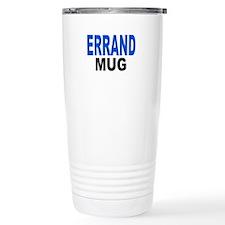 ERRAND MUG Travel Coffee Mug