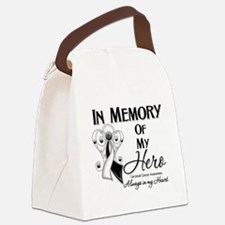 In Memory Carcinoid Cancer Canvas Lunch Bag