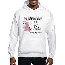 In Memory Breast Cancer Hoodie