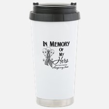 In Memory Brain Cancer Travel Mug