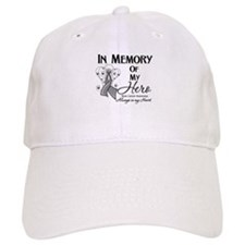 In Memory Brain Cancer Baseball Cap